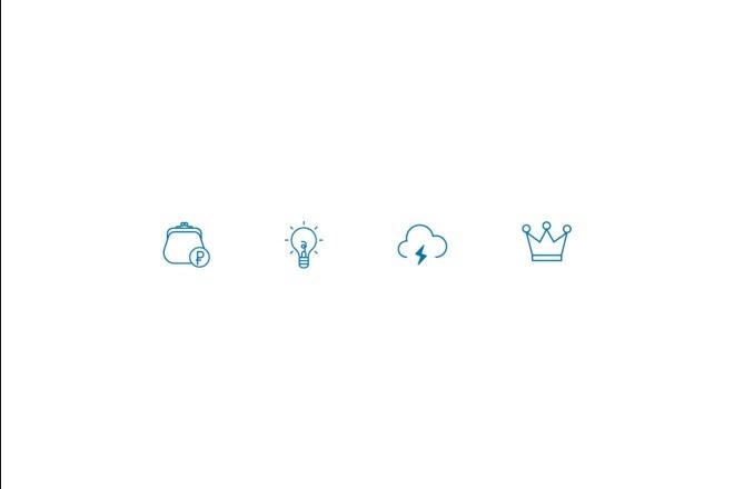 Создам 5 иконок в любом стиле, для лендинга, сайта или приложения 21 - kwork.ru