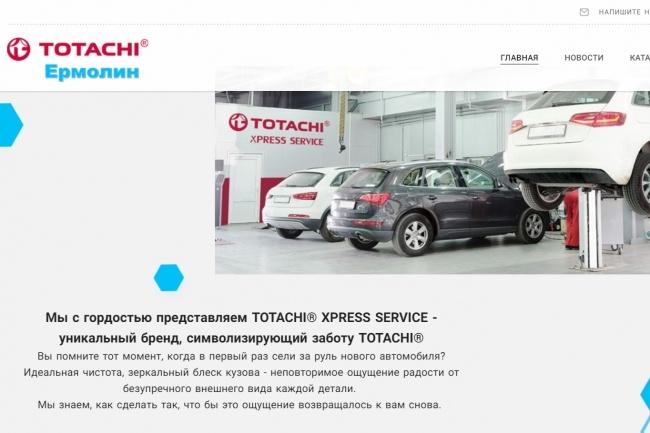 Создание сайтов на конструкторе сайтов WIX, nethouse 69 - kwork.ru
