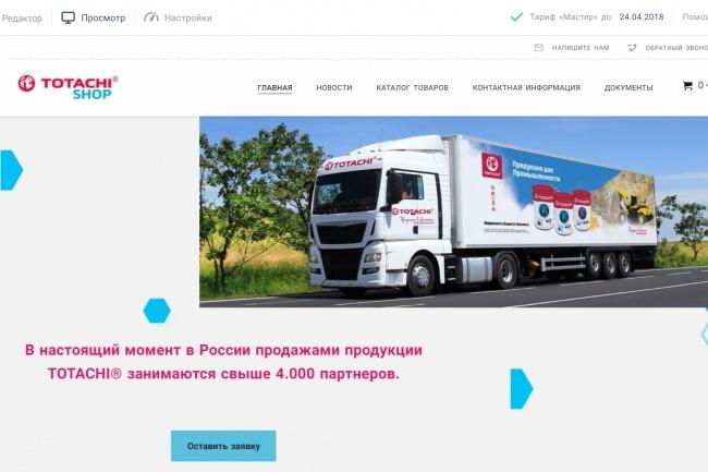 Создание сайтов на конструкторе сайтов WIX, nethouse 68 - kwork.ru