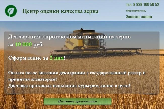 Создание сайтов на конструкторе сайтов WIX, nethouse 63 - kwork.ru