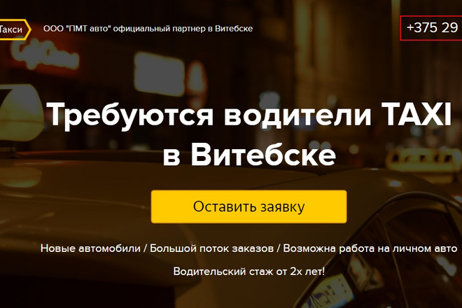 Качественная копия лендинга с установкой панели редактора 89 - kwork.ru