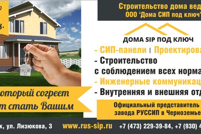 Разработаю макеты для наружной рекламы 5 - kwork.ru