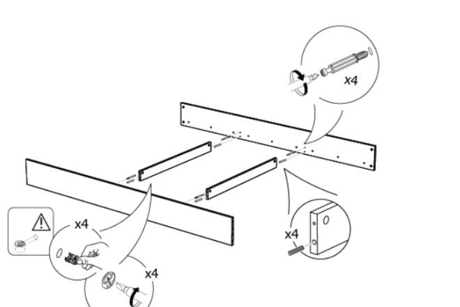 Схема, инструкция сборки мебели 17 - kwork.ru
