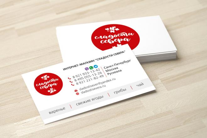 Дизайн визитки с исходниками 94 - kwork.ru