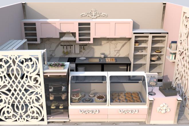 3d визуализация квартир и домов 12 - kwork.ru