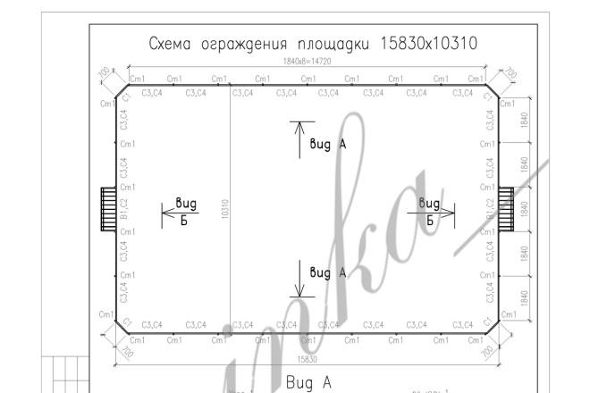 Выполню dwg чертежи в AutoCAD 3 - kwork.ru