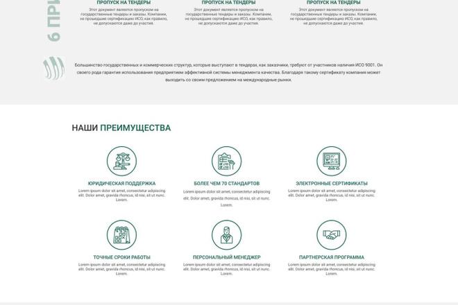 Уникальный дизайн сайта для вас. Интернет магазины и другие сайты 92 - kwork.ru