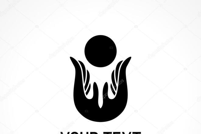 Логотип в 3 вариантах + исходники 8 - kwork.ru