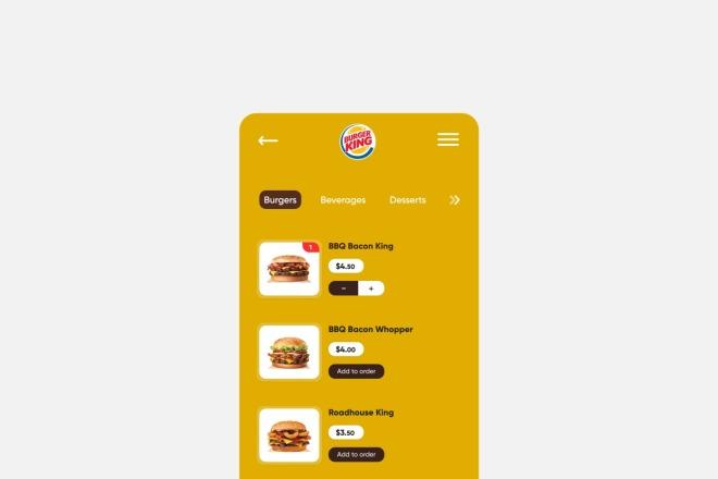 Разработка дизайна для вашего мобильного приложения 10 - kwork.ru
