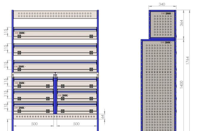 Создание модели SolidWorks 2 - kwork.ru