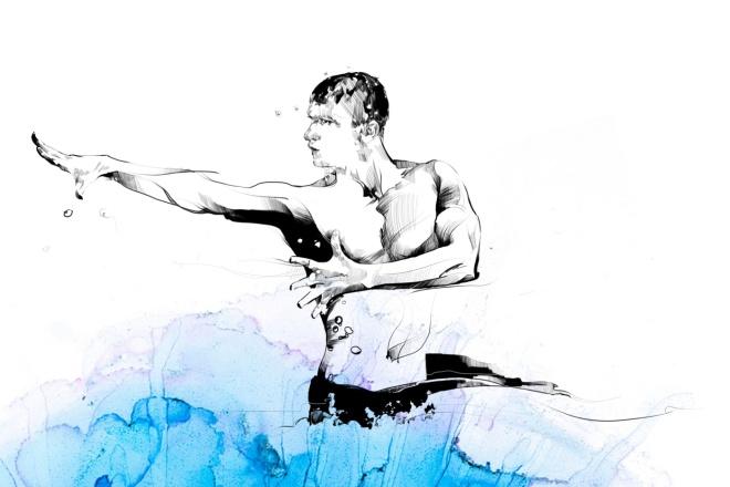 Творческий портрет в цифровом формате 1 - kwork.ru
