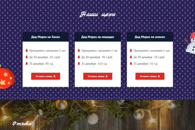 Сайт под ключ. Landing Page. Backend 98 - kwork.ru