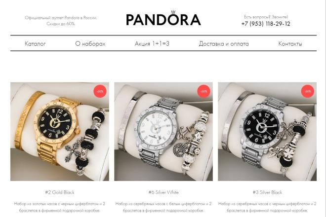 Качественная копия Landing Page на Tilda 14 - kwork.ru