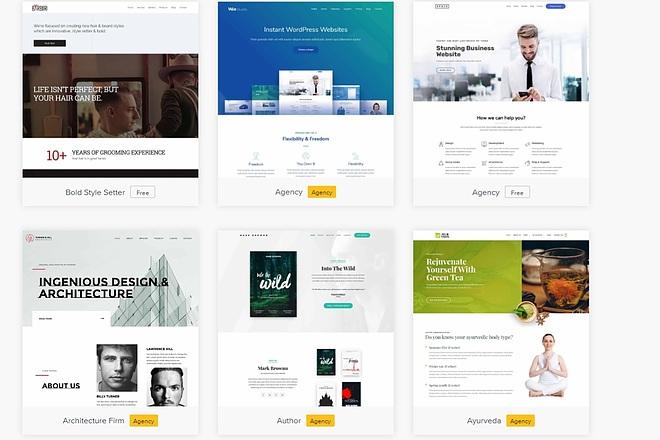ПАК 1000 шаблонов и дополнений для WordPress 58 - kwork.ru