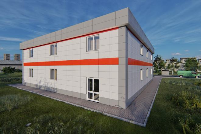 Фотореалистичная 3D визуализация экстерьера Вашего дома 76 - kwork.ru