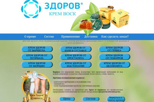 Копирование лендингов, страниц сайта, отдельных блоков 40 - kwork.ru