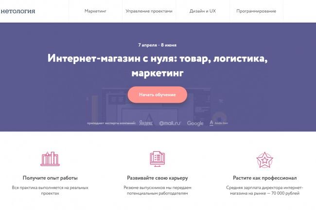 Копирование лендингов, страниц сайта, отдельных блоков 33 - kwork.ru