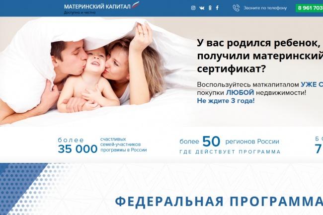 Копирование лендингов, страниц сайта, отдельных блоков 27 - kwork.ru