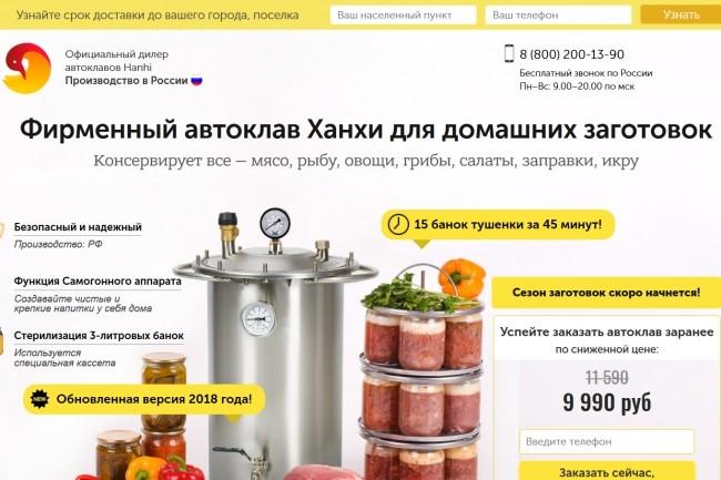 Копирование лендингов, страниц сайта, отдельных блоков 19 - kwork.ru