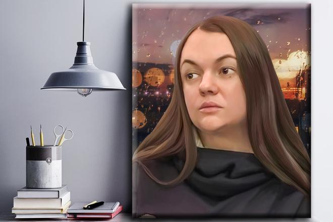 Обработка фото в стиле Digital-art 5 - kwork.ru