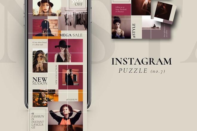 25000 шаблонов для Instagram, Вконтакте и Facebook + жирный Бонус 27 - kwork.ru