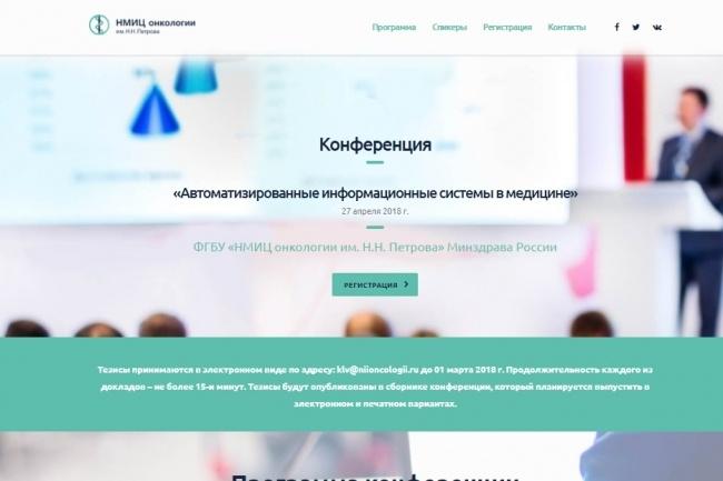 Создание красивого адаптивного лендинга на Вордпресс 85 - kwork.ru