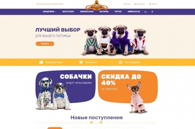 Создание красивого адаптивного лендинга на Вордпресс 80 - kwork.ru