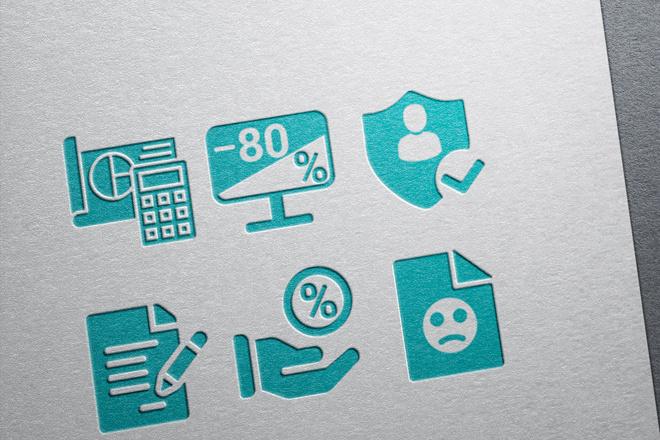 Нарисую иконки для сайта 40 - kwork.ru