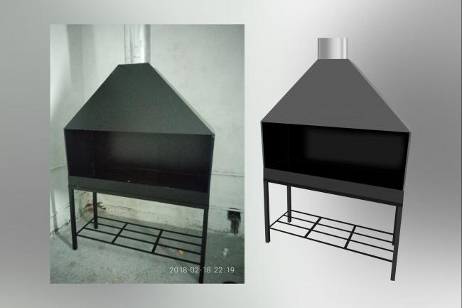 Отрисовка в векторе, формат Coreldraw, по рисунку, фото, сканированию 71 - kwork.ru