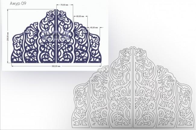 Отрисовка в векторе, формат Coreldraw, по рисунку, фото, сканированию 51 - kwork.ru