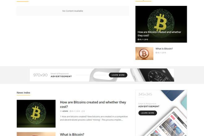 Создам красивый адаптивный блог, новостной сайт 23 - kwork.ru