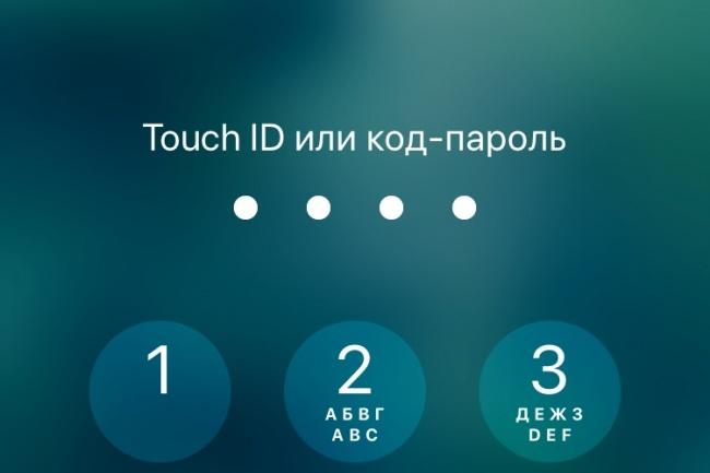 Мобильное приложение для iPhone, 1 экран 1 - kwork.ru