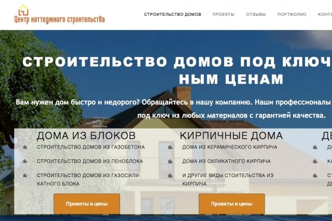 Лендинг на WordPress, установка шаблона, настройка 1 - kwork.ru