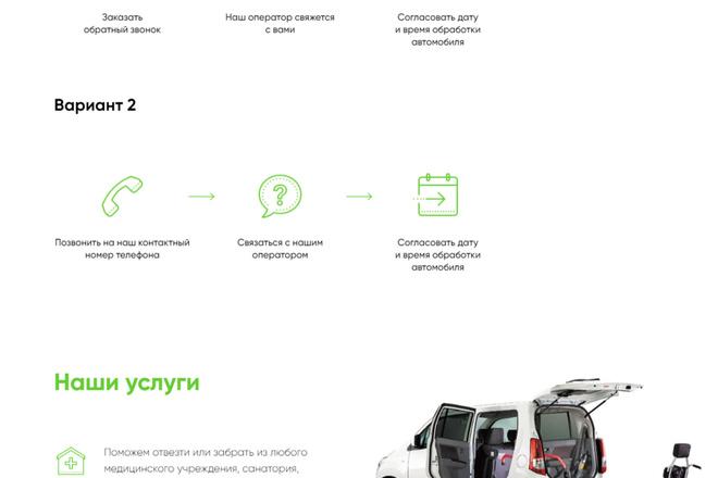Создание Landing Page, одностраничный сайт под ключ на Tilda 29 - kwork.ru