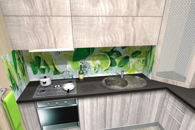 Проектирование корпусной мебели 24 - kwork.ru