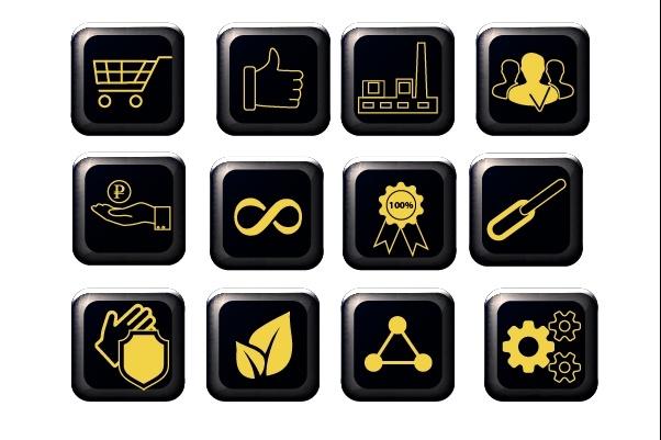 Нарисую 6 иконок в любом стиле 40 - kwork.ru