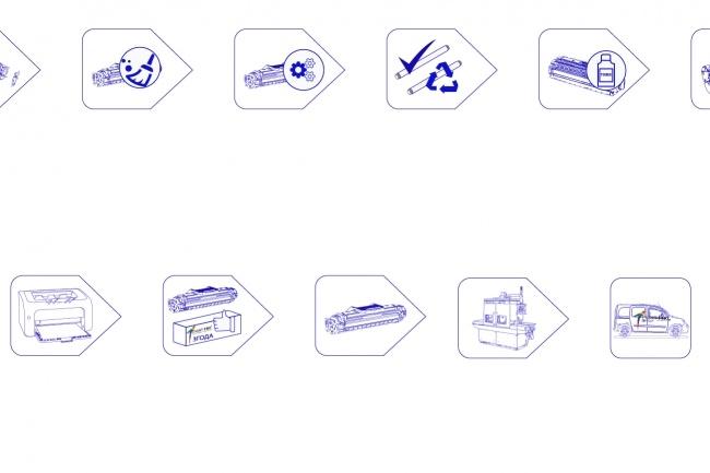 Нарисую 6 иконок в любом стиле 37 - kwork.ru