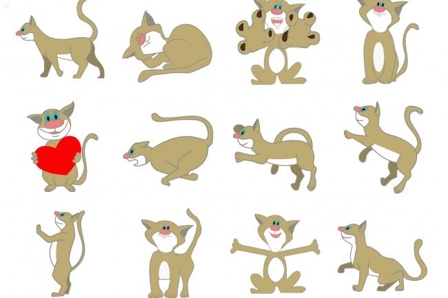 Нарисую 6 иконок в любом стиле 36 - kwork.ru