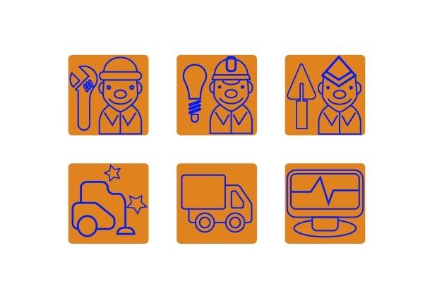 Нарисую 6 иконок в любом стиле 26 - kwork.ru