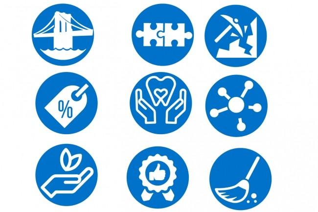 Нарисую 6 иконок в любом стиле 25 - kwork.ru