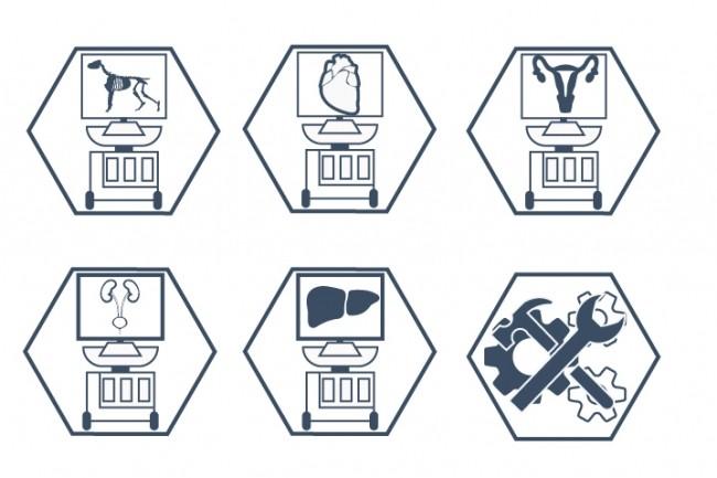 Нарисую 6 иконок в любом стиле 20 - kwork.ru