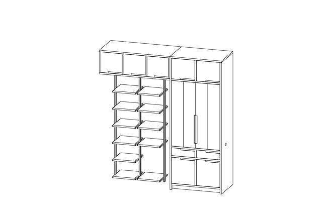 Проект корпусной мебели, кухни. Визуализация мебели 52 - kwork.ru