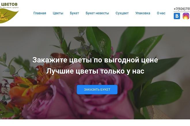 Landing Page на Wordpress 4 - kwork.ru