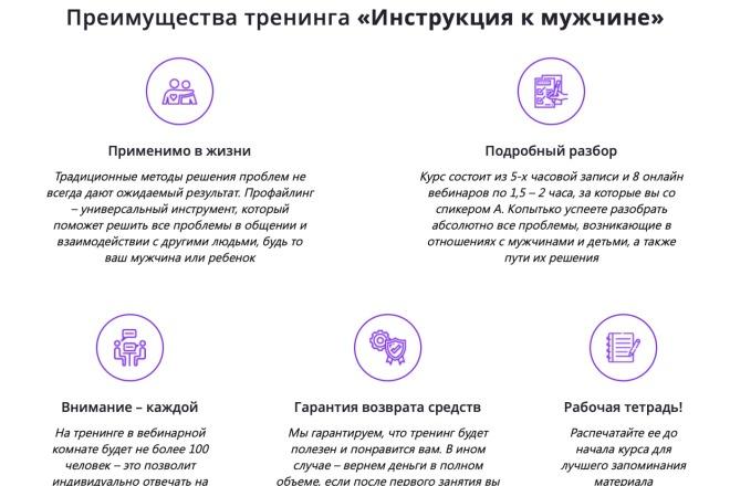 Вёрстка сайтов по доступной цене 42 - kwork.ru
