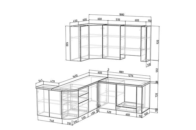 Конструкторская документация для изготовления мебели 114 - kwork.ru