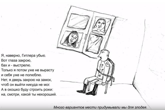 Дудл-анимация 1 - kwork.ru