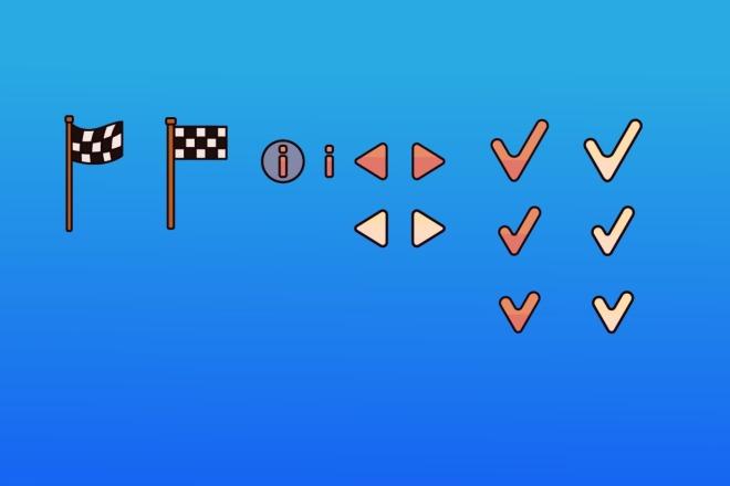 Спрайт для игры 2 - kwork.ru
