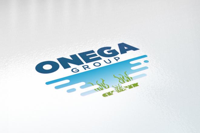 Логотип в 3 вариантах, визуализация в подарок 90 - kwork.ru