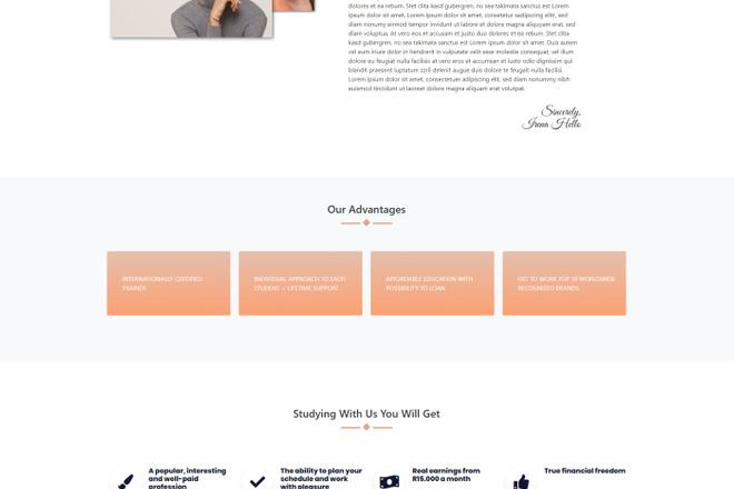 Создание сайта на WordPress 9 - kwork.ru