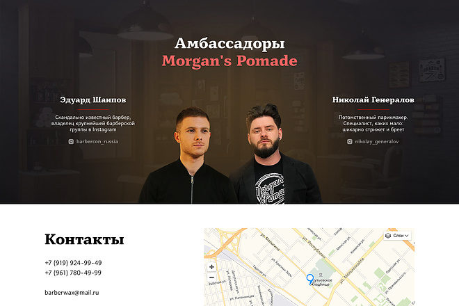 Лендинг на Tilda 2 - kwork.ru